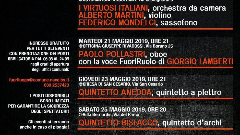 FUORILUOGO – Rassegna Musicale