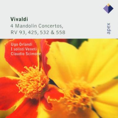 Vivaldi: 4 Mandolin Concertos