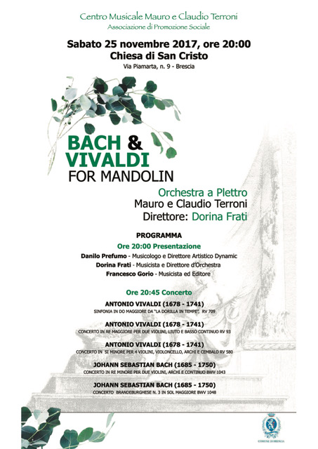 BACH  e  VIVALDI  for MANDOLIN